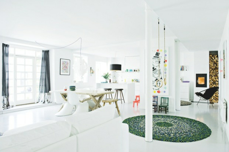 look! pimp your room: Home of Interior Stylist Louise Kamman Riising