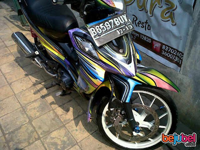 Shogun Airbrush Modifikasi