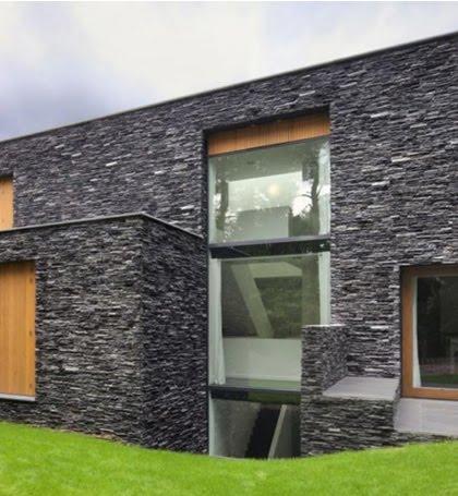 Decoraciones y mas hermosas casas con fachada de piedra - Fachadas de casas con piedra ...