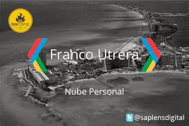 Nube personal por Franco Utrera
