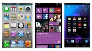 Perbandingan Windows Phone 8 VS Android 4.1 vs iOS 6