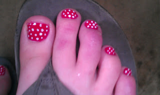 cute pedicures