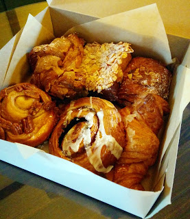 Pastries from Art Is In Bakery Ottawa