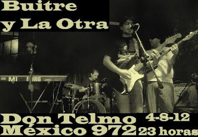 """buitre y La Otra en """"Don Telmo"""" II Hernan buitre Deheza , nex lopez"""