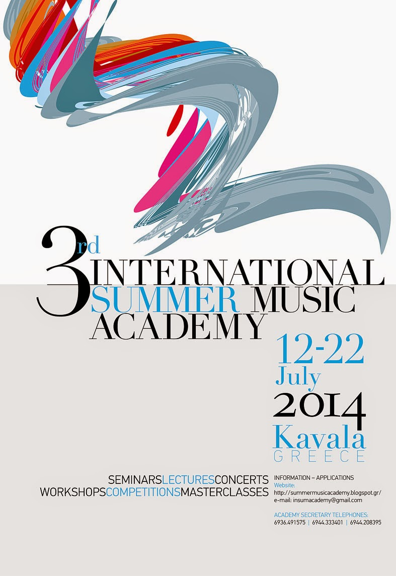 3rd International Summer Music Academy