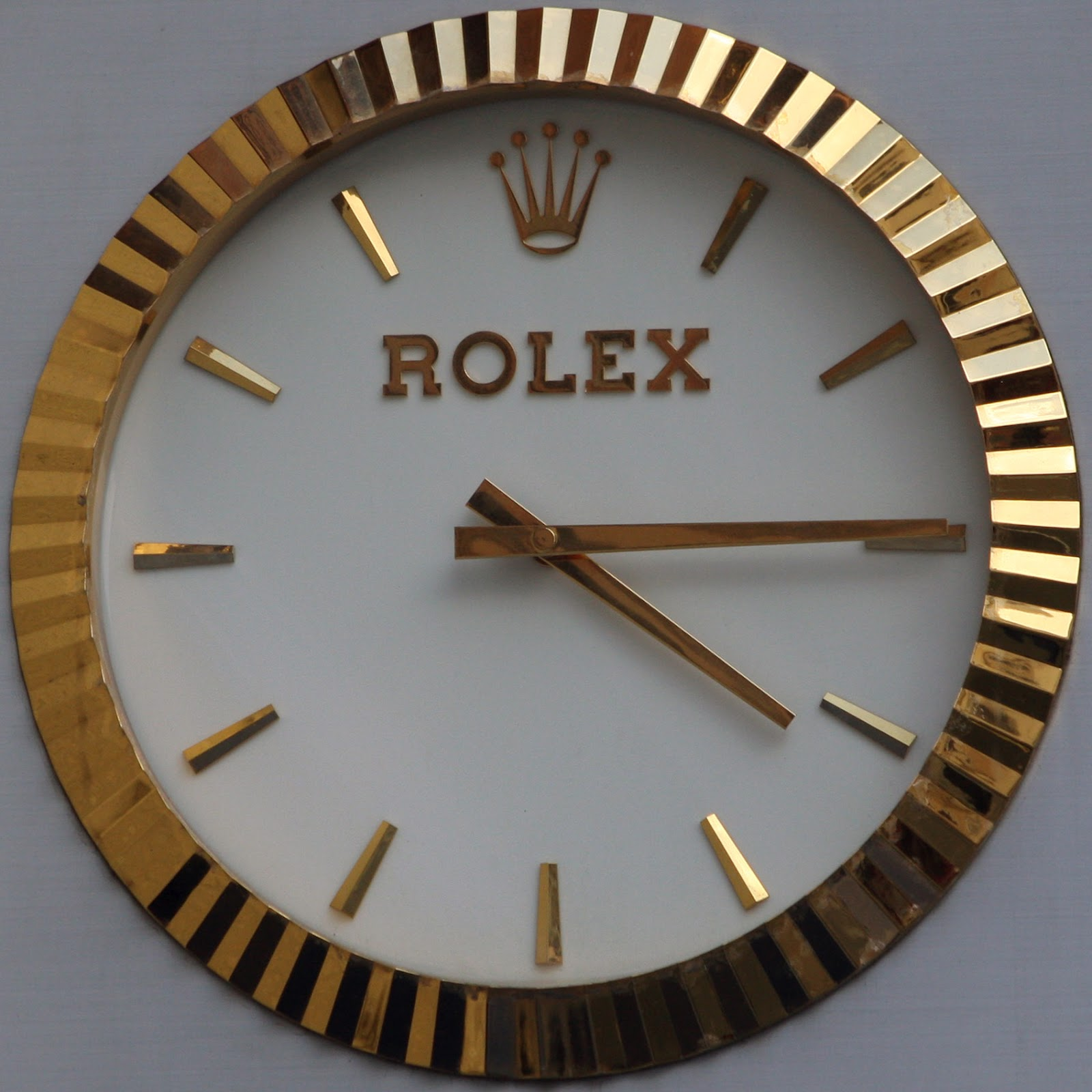 Fake rolex wallclocks and the authentic rolex wallclock watches let me start with one of the very few real and authentic rolex wallclocks amipublicfo Image collections