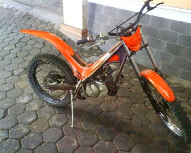 modifikasi motor cross