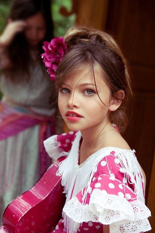 ... Thylane Blondeau la petite Preteen Model qui pose pour magazines hot