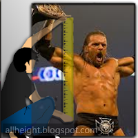 Triple H Height - How Tall