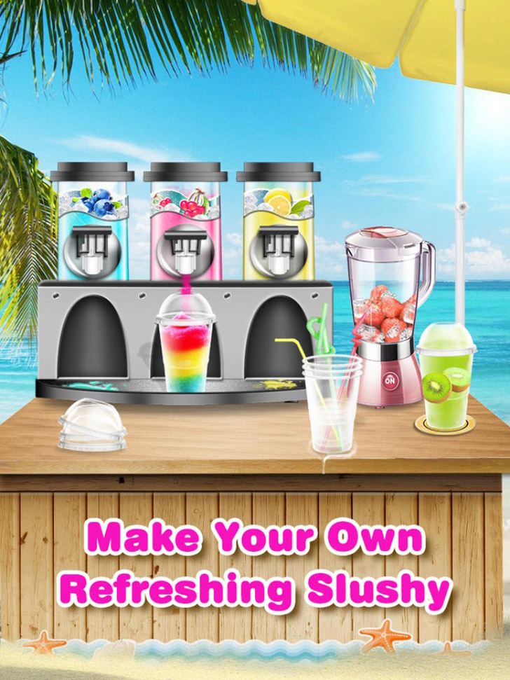 Slushy! - Make Crazy Drinks App iTunes App By Maker Labs - FreeApps.ws