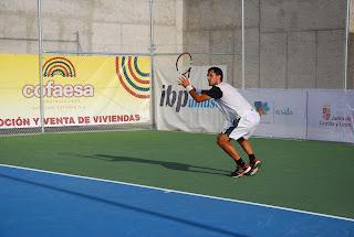 Open de tenis de bejar, tenista Arkaitz Manzarbeitia