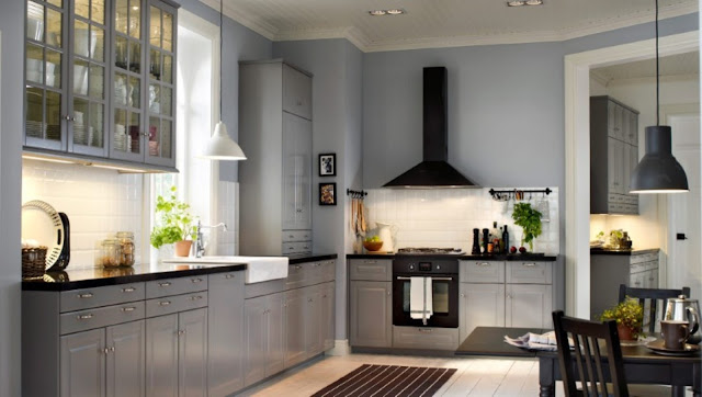 Ikea Gray Kitchen Cabinets 02