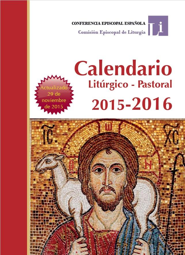 CALENDARIO LITÚRGICO 2015-2016