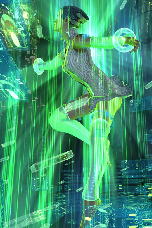 Cyber Space por KaanaMoonshadow