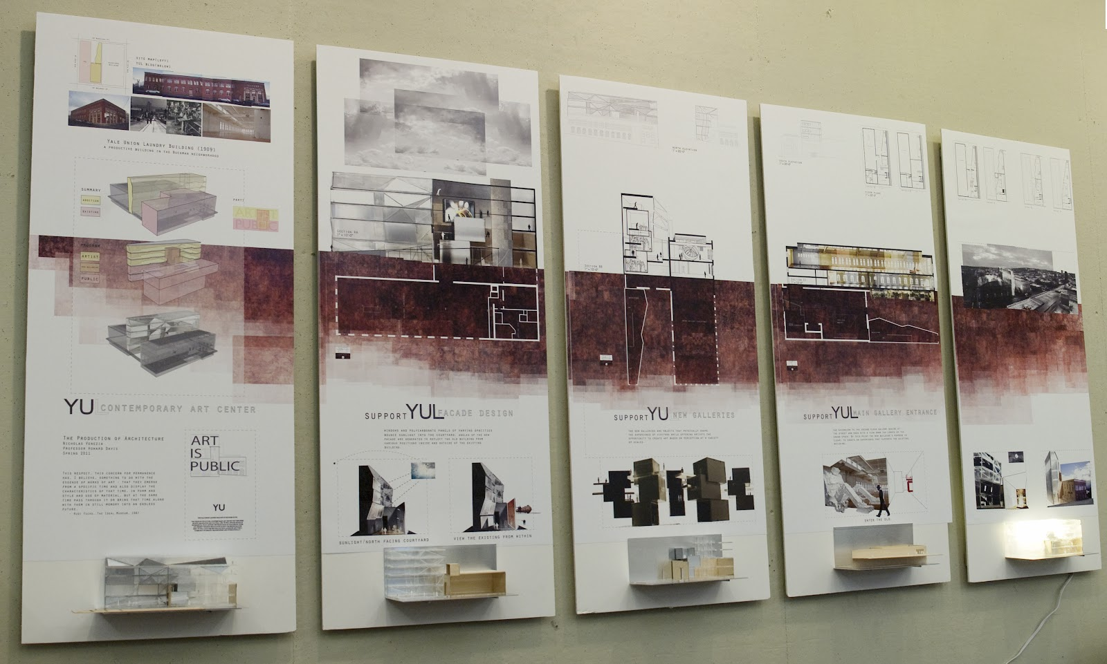 architecture thesis boards