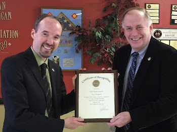 Kingston Mayor Bryan Paterson  Visits Watertown