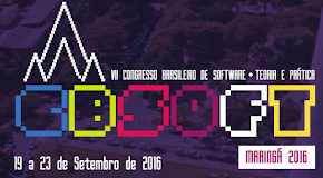 CBSoft 2016 - Maringá - 19 a 23 de Setembro de 2016