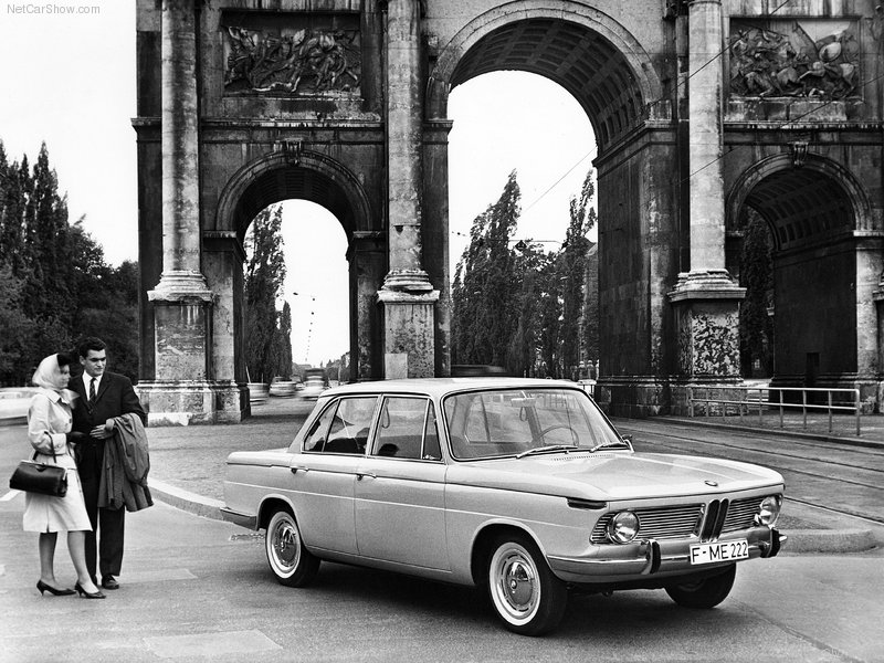 1962 - BMW 1500 Wallpapers for PC ~ BMW Automobiles