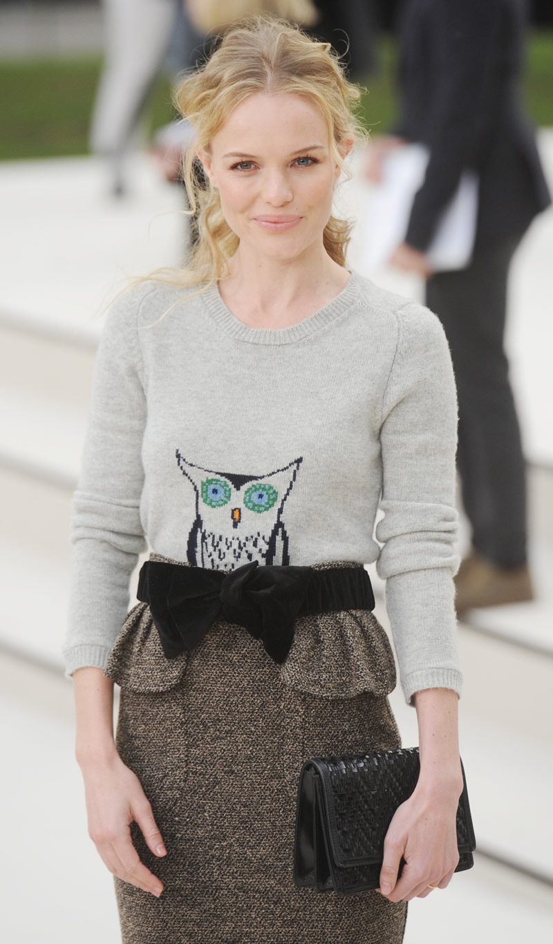 gallery enlarged kate bosworth burberry show 15 - Kate Bosworth