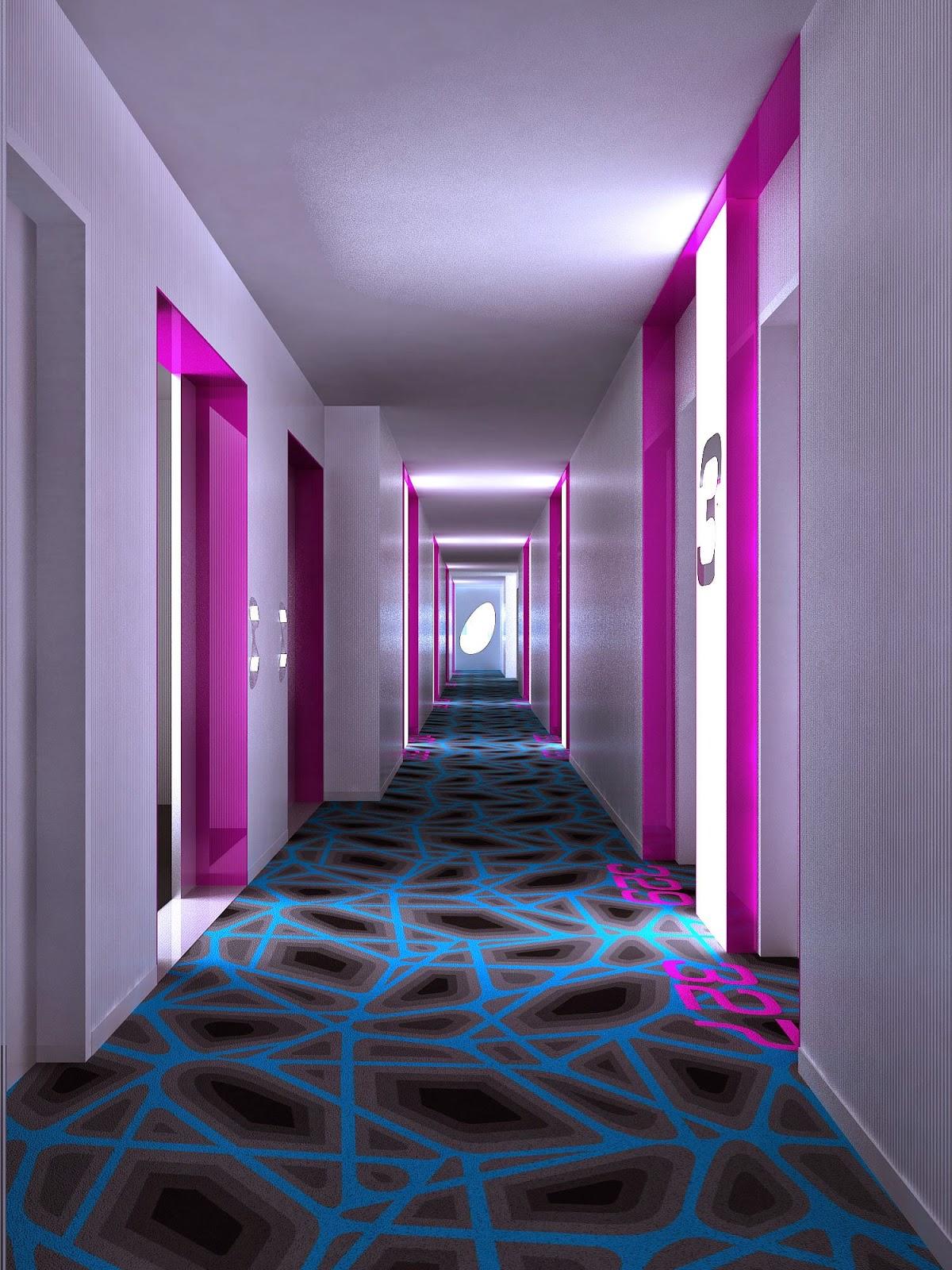 les plus beaux hotels design du monde h tel prizeotel hamburg city by karim rashid hambourg. Black Bedroom Furniture Sets. Home Design Ideas