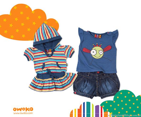 moda infantil verano 2014 owoko niñas