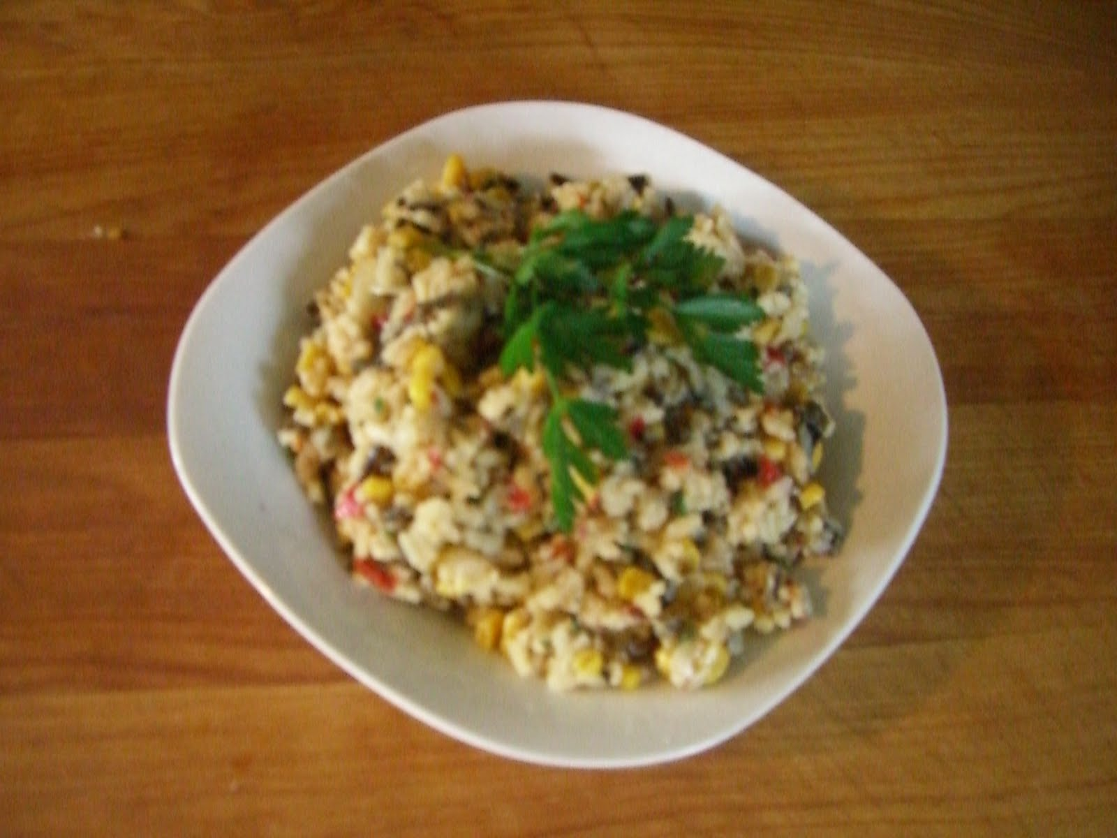 Fresh Corn With Wild Rice Recipe — Dishmaps