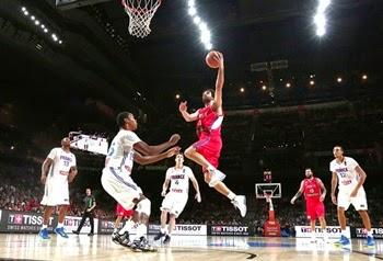 Sérvia vence França semifinal mundial de basquete 2014