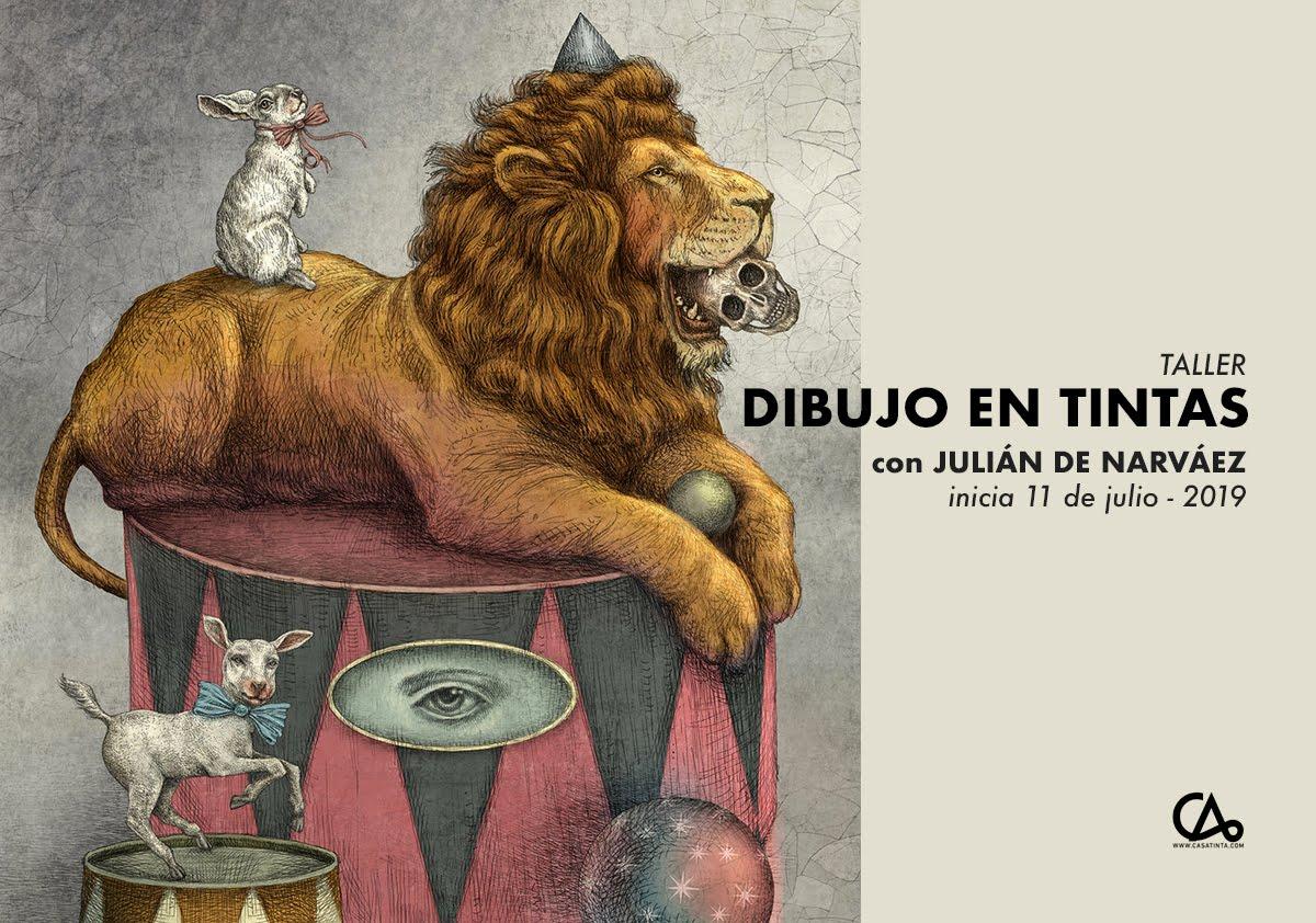 DIBUJO EN TINTAS // 11 de jul