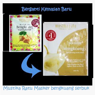 Mustika Ratu Masker Bengkuang Serbuk: