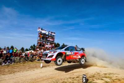 Hyundai Shell World Rally va debuta cu trei echipaje la Raliul Poloniei