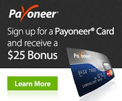 Sign Up & Get A Payoneer MasterCard Today