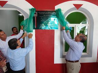 Inauguró las nuevas instalaciones de la presidencia municipal de Chietla