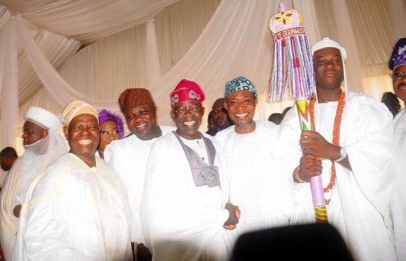 tinubu at coronation of ooni of ife