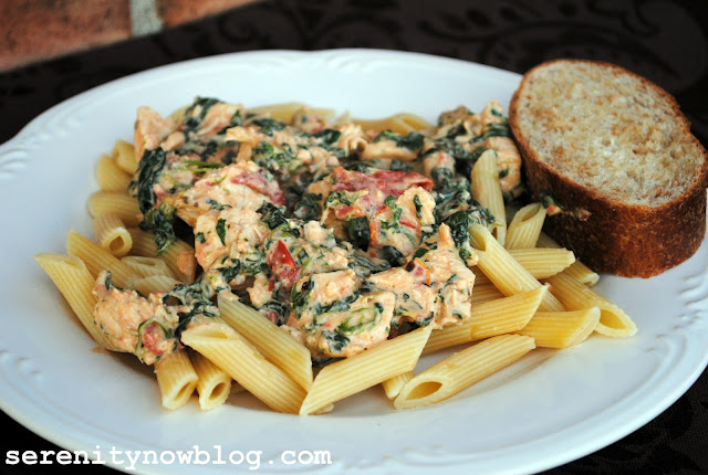 Serenity Now: Creamy Chicken Florentine (Kraft Foods and My Thoughts ...