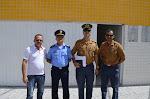 Comandantes da GCM Tabira e CORP. BOMBEIROS AF. DA INGAZEIRA