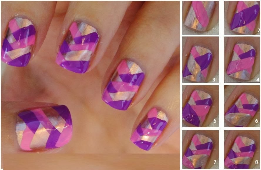 Liphaphaspot Some Simple Steps For Nail Arts