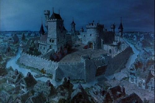 Prince John Robin Hood castle filmprincesses.blogspot.com