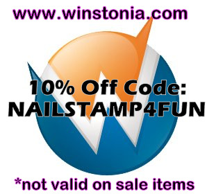 10% Code: Nailstamp4fun
