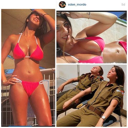 Mulheres do exército Israelita mostram as suas belas armas na Internet!