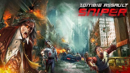 Zombie Assault:Sniper Apk v1.02 Mod [Unlimited Money e Gold]