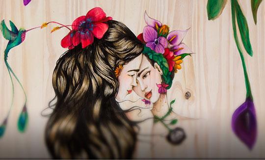 Ilustración, FRIDA, Bilateral de Josymar Arteaga