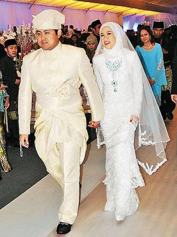 Majlis Akad Nikah Adinda Sultan Kelantan Dengan Kerabat DiRaja Brunei