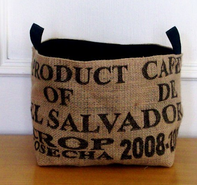 basket / coffee sack basket