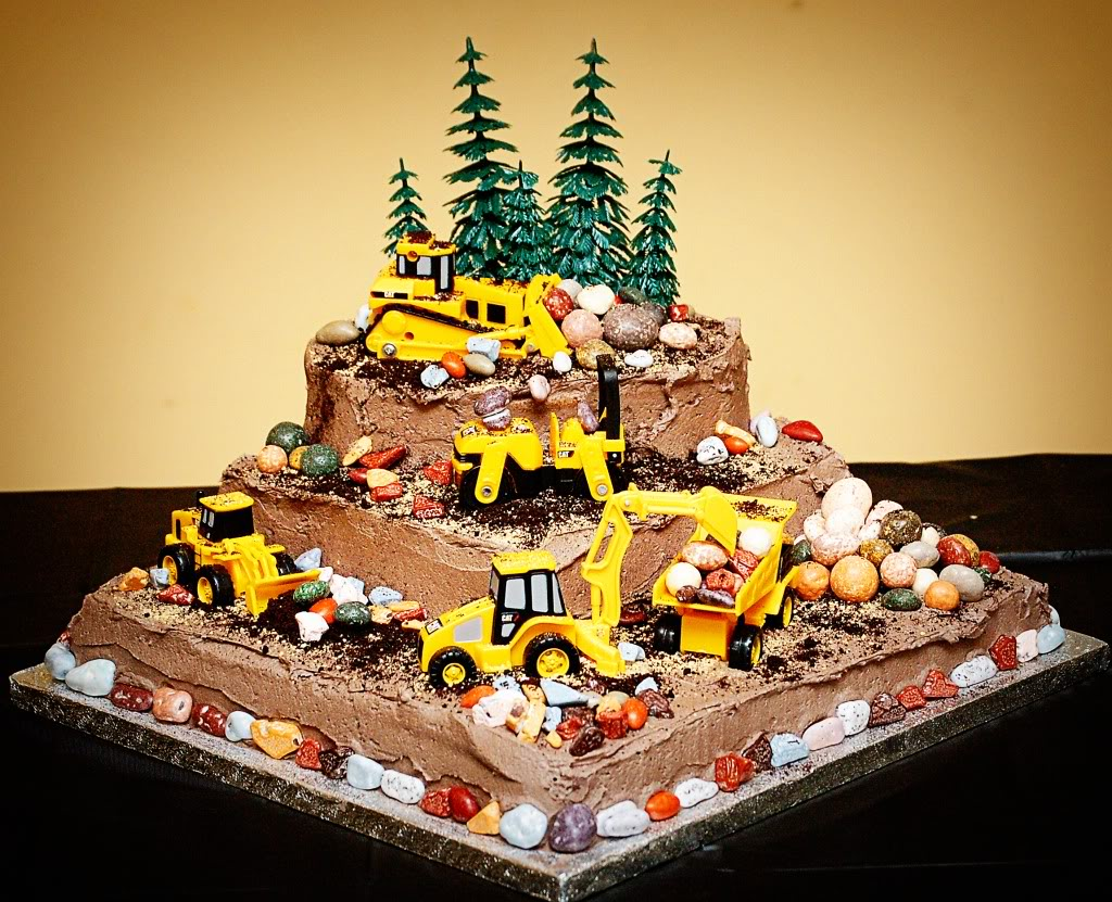 Birthday Cake For Construction Image Inspiration of Cake and