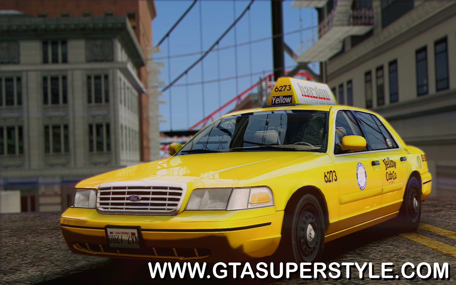 GTA SA - Ford Crown Victoria LA Taxi