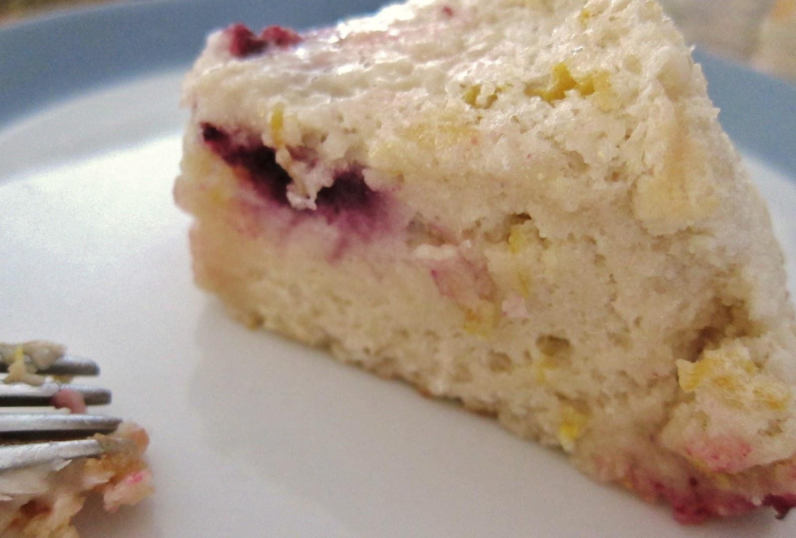The Vegan Chronicle: Blueberry Angel Food Cake