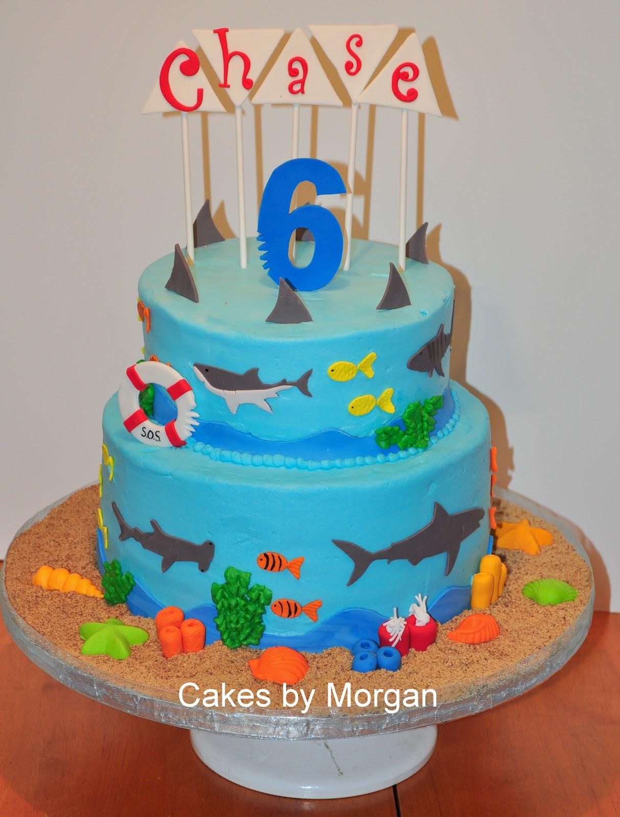 Morgan\'s Cakes: Shark Cake