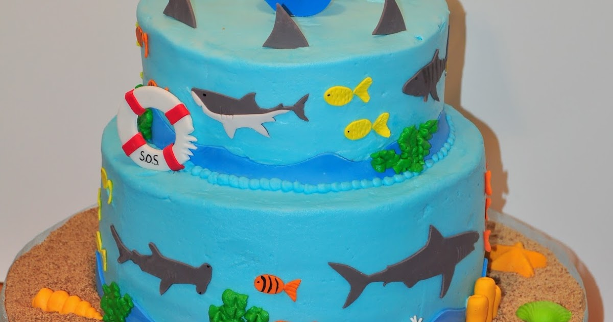 morgan u0026 39 s cakes  shark cake
