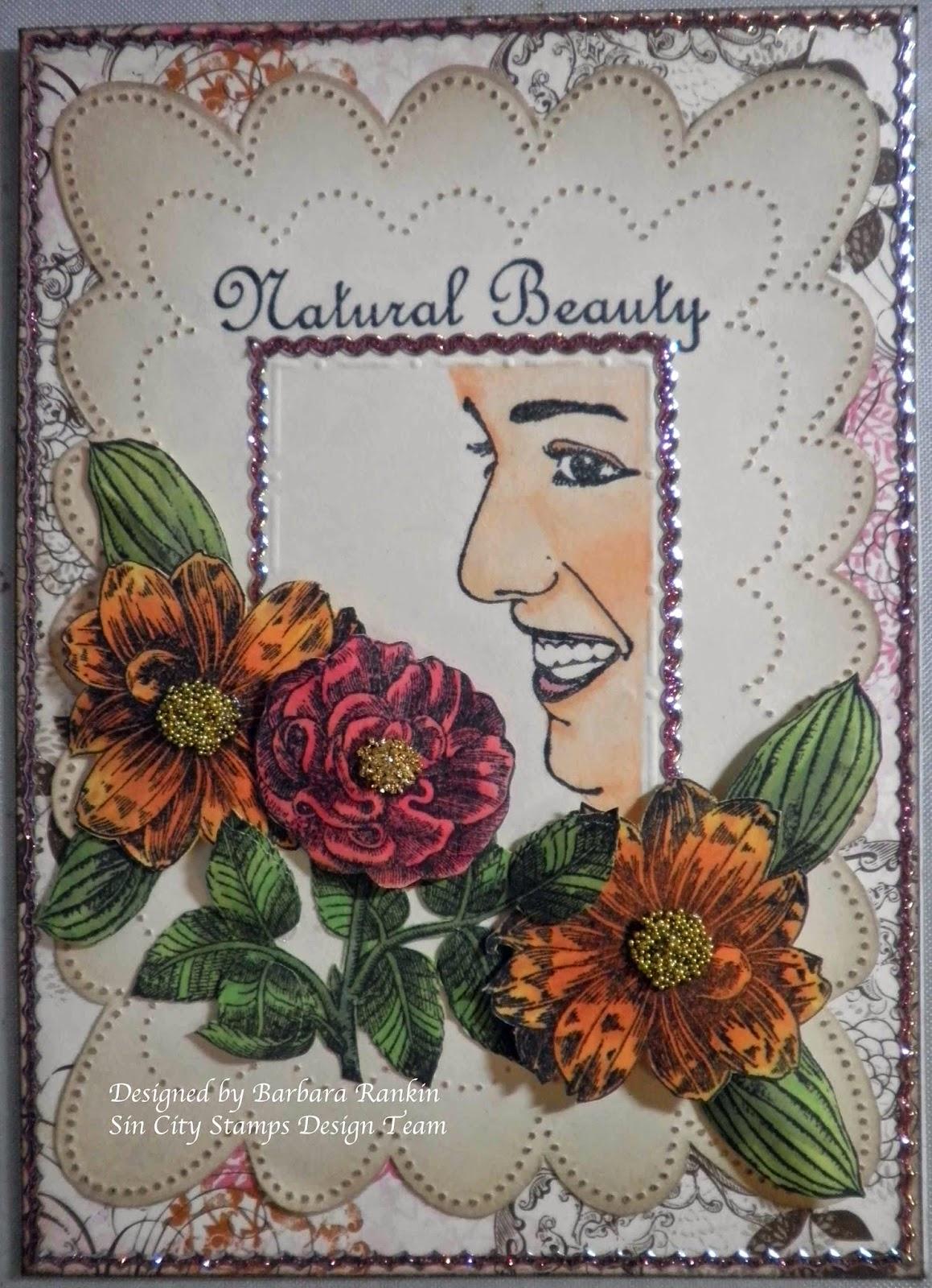 Sin City Stamps : Natural Beauty ; Bingo