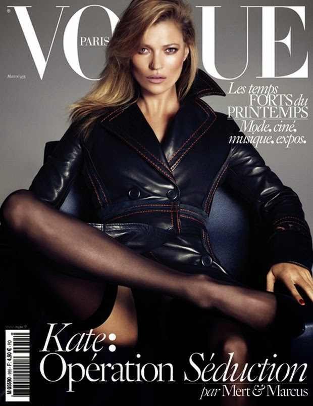 Model: Kate Moss, Daria Werbowy & Lara Stone by Mert Alas & Marcus Piggott for Vogue Paris